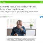 Confinamiento y salud visual: los problemas que tienen ahora nuestros ojos