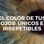 El color de tus ojos: únicos e irrepetibles